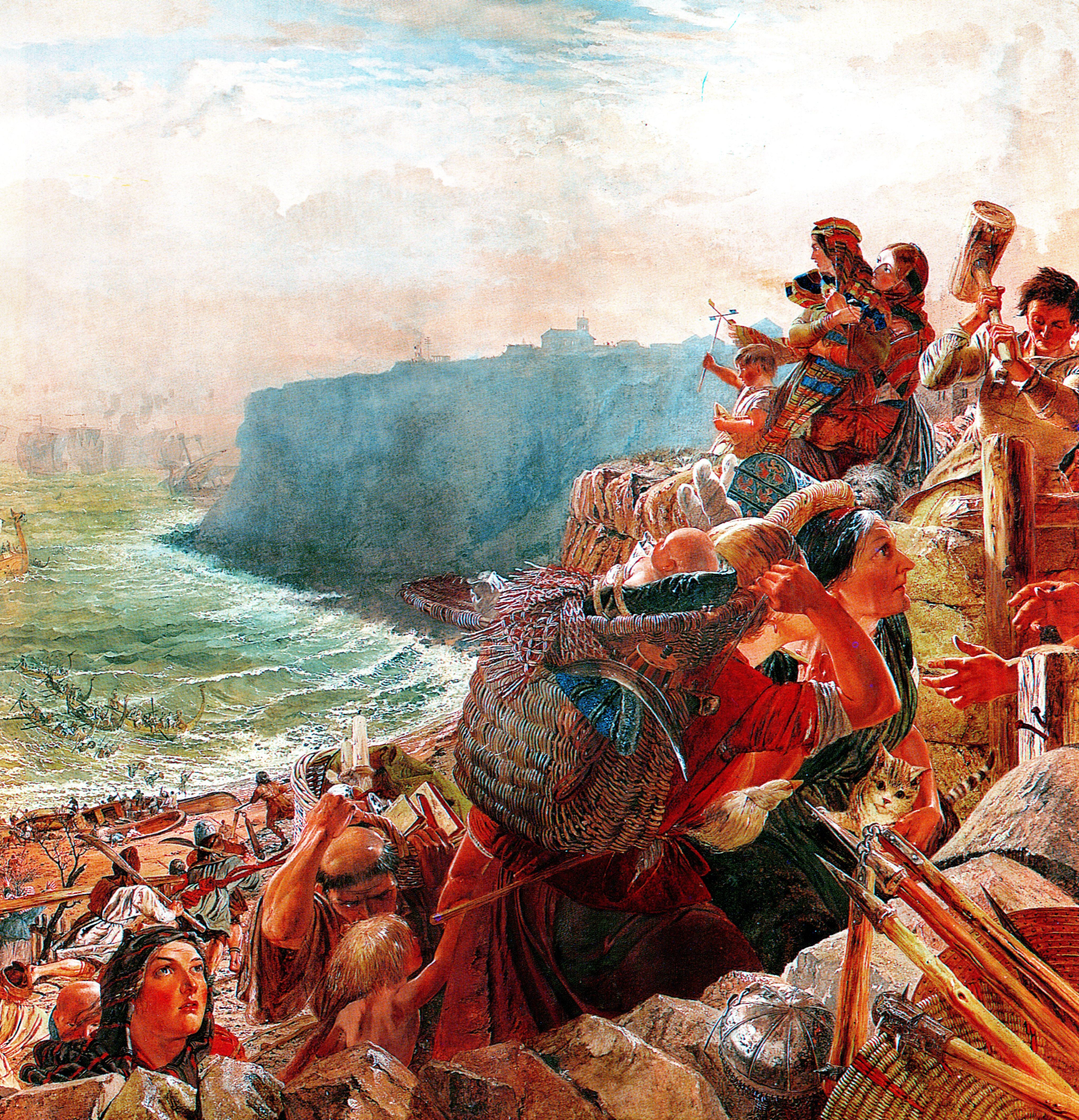 anglosaxon invaison Le dernier roi anglo-saxon païen, penda, meurt en 655 À partir du viii e siècle, des missionnaires anglo-saxons partent évangéliser l'europe,.